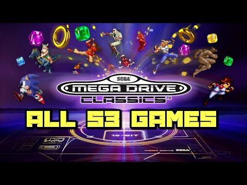 Sega Mega Drive/Genesis Classics for PS4 & Xbox One / All 53 Games Shown
