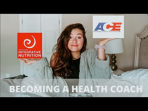 BECOMING A CERTIFIED HEALTH COACH//IS IIN OR ACE BETTER? price, experience, program details