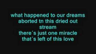 Cinema Bizarre - After the rain Karaoke
