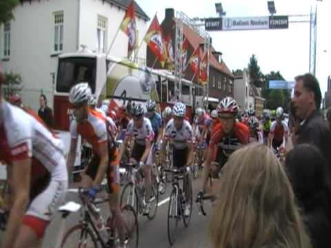 Start Amateurs A in Daags na de Tour in Boxmeer