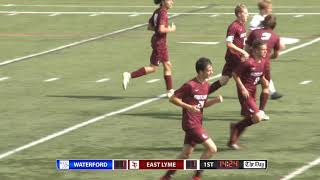Boys' soccer highlights: East Lyme 2, Waterford 1