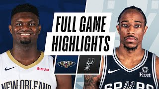 PELICANS at SPURS | FULL GAME HIGHLIGHTS | February 27, 2021 by NBA