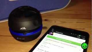 Übergrün: Raikko BT Dance Vacuum Speaker [Test]
