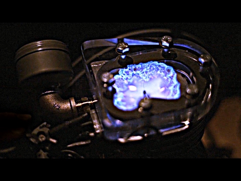 Seeing The Explosion Inside A Transparent Engine Shows You How Engines Work