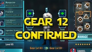 Star Wars: Galaxy Of Heroes - Gear Level 12 CONFIRMED Hermit Yoda Coming