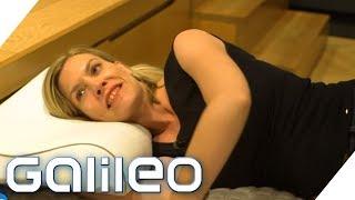 Die perfekte Matratze - Schlafen ohne Probleme? | Galileo | ProSieben