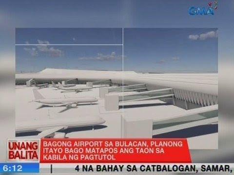 UB: Bagong airport sa Bulacan, planong itayo bago matapos ang taon sa kabila ng pagtutol