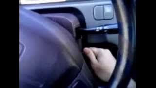 How to Unlock and start a (92-00) Honda civic in under a minute