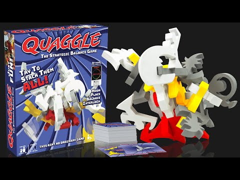 Youtube Video for Quaggle - the Strategic Balance Game