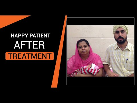Happiest Patient from Sangrur got positive results with Test Tube Baby treatment