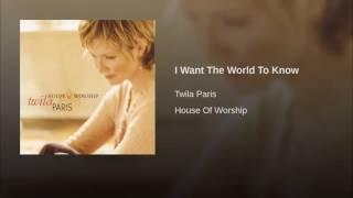 174 TWILA PARIS I Want The World To Know