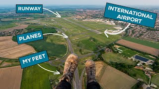 Legally Flying Over Norwich Airport