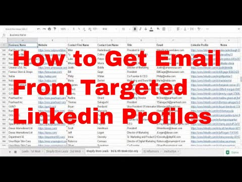 Download How To Get Email Addresses Of Linkedin Profiles Find Ceo