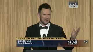 Joel McHale remarks at 2014 White House Correspondents