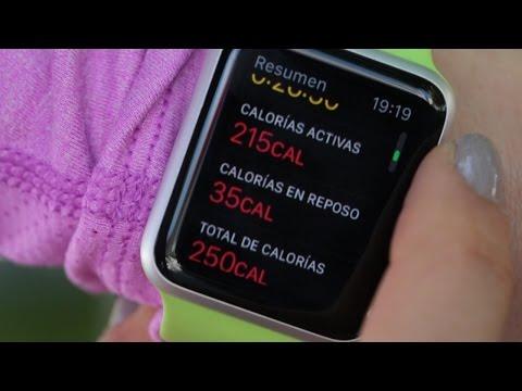 Un día con el Apple Watch: haciendo ejercicio