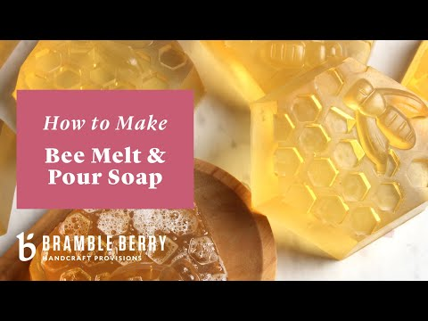 SFIC Honey Melt And Pour Soap Base