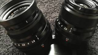 Professor Foto Fuji 23mm & 35 F2 Lens Review