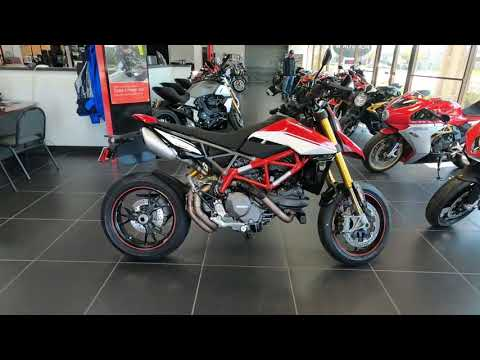 2021 Ducati Hypermotard 950 SP in West Allis, Wisconsin - Video 1