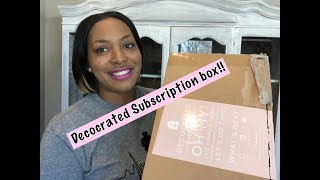 Decocrated Subscription Box Unboxing!! | Spring Home Decor