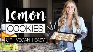 easy vegan gluten free cookies recipe