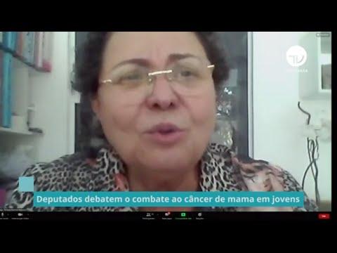 Deputados debatem o combate ao câncer de mama em jovens - 14/10/21