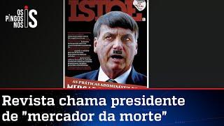 Revista lança capa em que compara Bolsonaro a Hitler