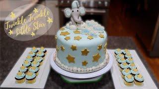 Baby Shower Cake | Twinkle Twinkle Little Star