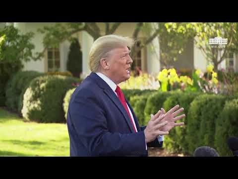 Press Gaggle: Donald Trump Speaks to the Press Before Marine One Departure - October 10, 2019