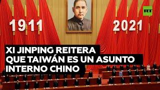 CHINA RECHAZA INJERENCIA EN TAIWAN