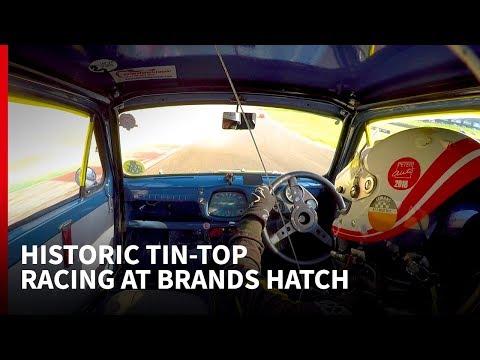 Racing an Austin A30 with a BTCC legend at Brands Hatch: Autosport Drives