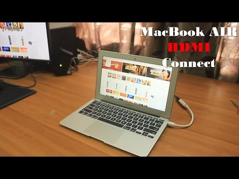 Connect MacBook Air to external Display with HDMI cable   BlueRigger  