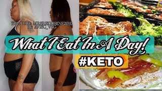 KETO LIFESTYLE || WHAT I EAT IN A DAY