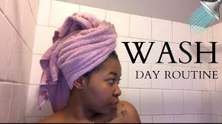 Easy Wash Day Routine For SHORT, THICK Natural Hair | Using Only 5 Products!!! | Kinzey Rae