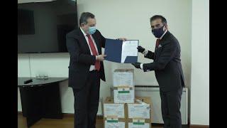 ԱԳ նախարարի տեղակալ Ավետ Ադոնցի հանդիպումը Հայաստանում Հնդկաստանի դեսպան Կիշան Դան Դեվալի հետ