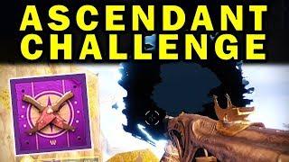 Destiny 2: NEW ASCENDANT CHALLENGE GUIDE! - Extra-Powerful Gear! | Forsaken