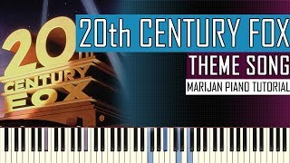 How To Play: 20th Century Fox Intro - Theme Song | Piano Tutorial