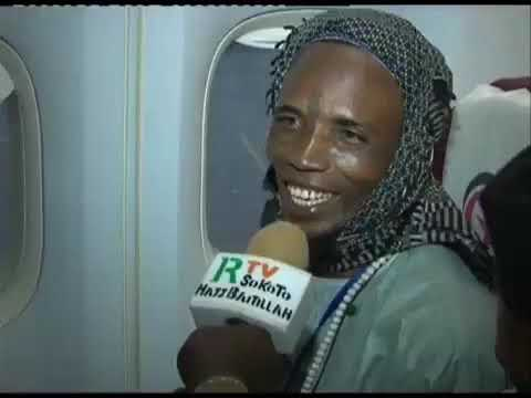 Fulani Yan' uwan mu kalli Yadda Yake Jin Dadin zaije makkah
