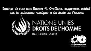 Échanges de vues avec le rapporteur les substances toxique de l'ONU