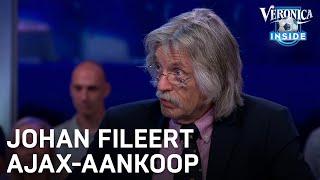 Johan fileert Marin: 'Past totaal niet in de Ajax-cultuur'   CHAMPIONS LEAGUE