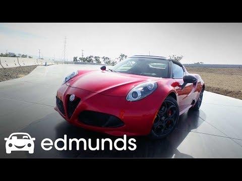 2018 Alfa Romeo 4C Spider Review | Track Test | Edmunds