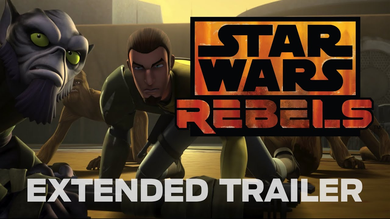 Here's An Extended Look At The New 'Star Wars' Animated Series