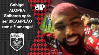 'Seu moleque': Gabigol alopra Galhardo após Inter ser vice para o Flamengo
