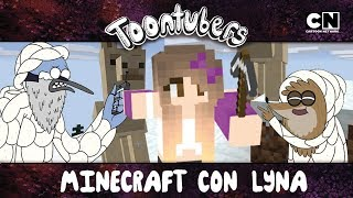 ANIMALES SALVAJES DE MINECRAFT CON LYNA!!! | Toontubers | Cartoon Network
