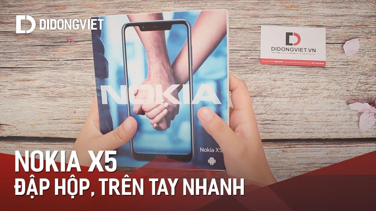Đập hộp Nokia X5: Đối thủ đáng gờm phân khúc 4 triệu