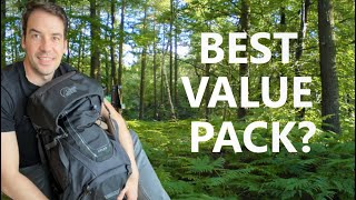 Is this THE BEST VALUE BACKPACK on the market today? Lower Alpine Atlas 65L Backpack (Anthracite)