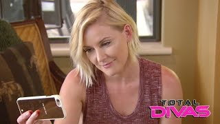 Renee Young talks to Dean Ambrose during her trip to Orcas Island: Total Divas, Jan. 11, 2017