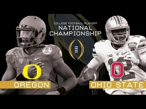 2015 College Football Playoff National Championship- Oregon Ducks Highlights