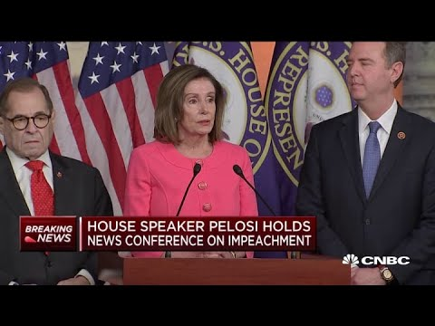 House speaker Pelosi: This impeachment will last forever