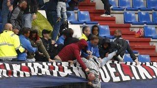 Willem II Fans Vs Feyenoord Fans In The Stands