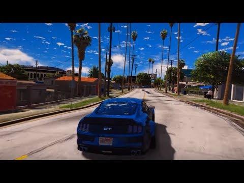 НОВАЯ ГРАФИКА В ГТА СА! ДЕЛАЕМ ГРАФИКУ В GTA SAN ANDREAS ЛУЧШЕ ЧЕМ В GTA 5! | DYADYABOY 🔥 (видео)